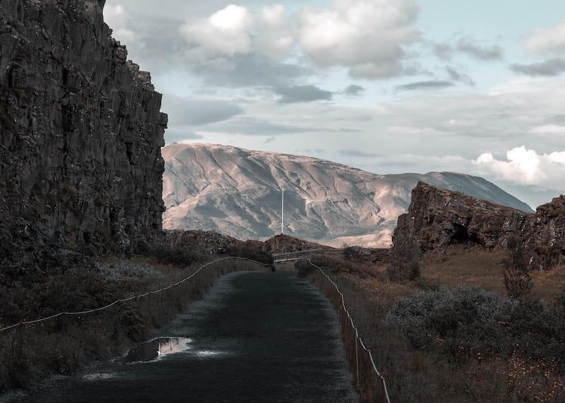 Almannagjá Gorge